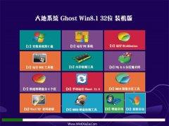 大地系统Windows8.1 2021.04 32位 旗舰装机版