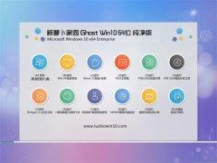 新萝卜家园Windows10 青春纯净版64位 2021.04